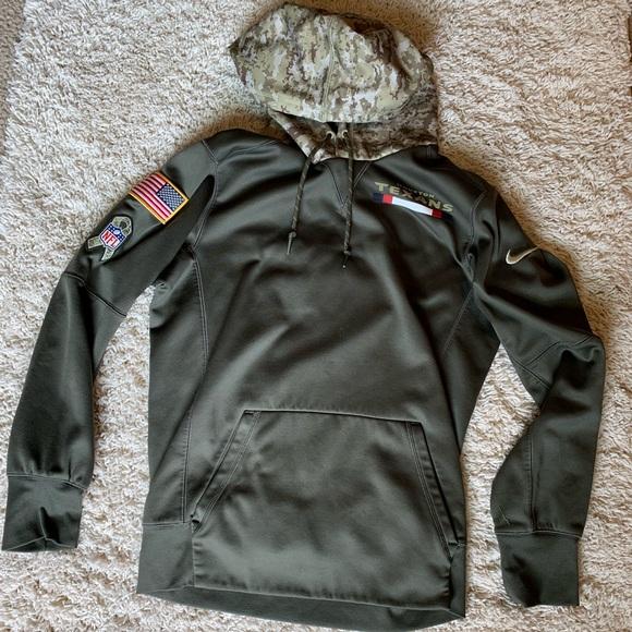super popular d429c c93a5 Nike Salute to service NFL hoodie camo